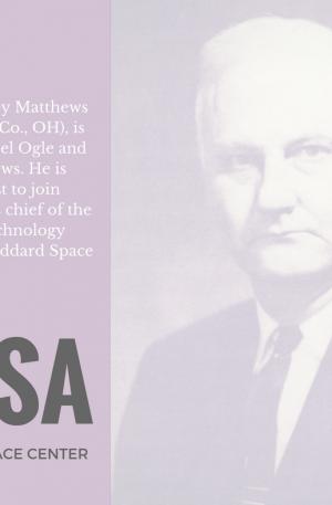 Norris Matthews - Chief of Spacecraft Technology at Goddard Space Flight Center