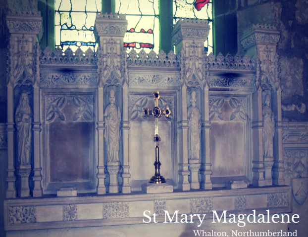 altar at St Mary Magdalene
